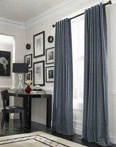 Love these curtains...maybe for great room?