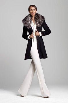 Tuxedo Dressing Iman's Ageless Chic Boutique  #fashion