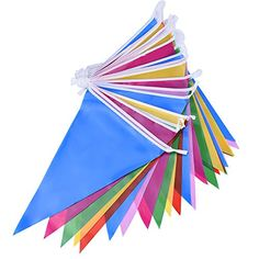 Mudder Multicolor Plastic Bunting Banner 30 Flags Double ... https://www.amazon.co.uk/dp/B01G72W0YS/ref=cm_sw_r_pi_dp_x_Swr.yb9HKMWK0