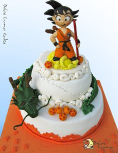 Dragon ball Cake - by DolceLunaCake @ CakesDecor.com - cake decorating website
