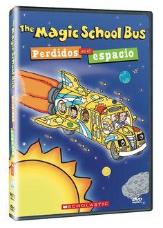 Diseño publicitario de DVD's - Stop Diseño Gráfico - Diseño de Perdidos en el espacio - The Magic School Bus - Scholastic.