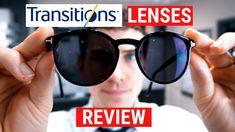 Trying On New Transition Lenses Gen 8 | Transition Lenses Review | Doctor Eye Health - YouTube
