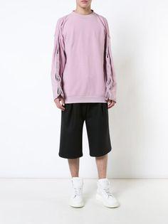 Y / Project Sweatshirt mit Rundhalsausschnitt