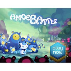 Amoebattle, an iOS game with microscopic battles