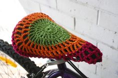 bicycle seat cover free crochet pattern