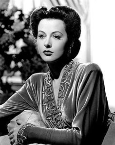 """Hedy Lamarr, 1942, (1913–2000) an Austro-American actress and mathematician, celebrated for her great beauty, who was a major contract star of MGM's """"Golden Age.Lamarr and composer George Antheil invented an early technique for spread spectrum communications and frequency hopping, necessary for wireless communication from the pre-computer age to the present day."""