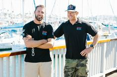 Should San Diego win its bid to host the next America's Cup, two of the sport's key sailors would be competing in their own backyards.