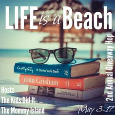 FLYLēF - Young Adult Book Blog for Reviews and Giveaways: Life is a Beach Giveaway Hop