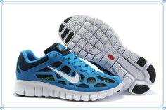 72ce5fe50731 Nike Free Run 3 Breathable Mesh Zapatos Azul Hombre 28579 Baratas
