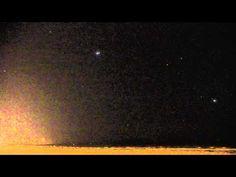 Watch Jupiter Get Blasted by an Iridium Flare