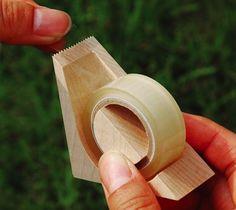 Wood Tape Cutter