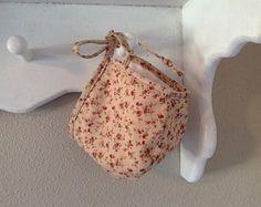 Vintage Rose Floral Print Bonnet HANDMADE HEIRLOOM TREASURES by LaurenceRose on Etsy