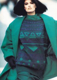 Mondi, Harper's Bazaar, September 1986.
