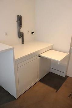 Garage Laundry Rooms, Laundry Nook, Modern Laundry Rooms, Laundry Room Remodel, Laundry Closet, Laundry Room Organization, Laundry Room Design, Laundry In Bathroom, Paint Colors For Living Room