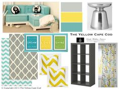 The Yellow Cape Cod: Olivia's Playroom~A Fun and Functional Play Space