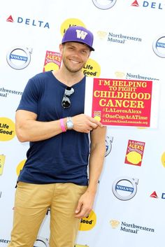 Actor Joel McHale attends L.A. Loves Alex's Lemonade on September 12, 2015 in Los Angeles, California. (Photo by Rachel Murray/Getty Images for Alex's Lemonade Stand Foundation)