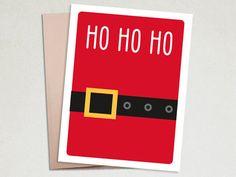 Christmas Card - Ho Ho Ho - Santa's Belt – The Imagination Spot