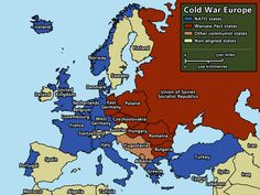 This political map shows Europe in 1945.  This connects to human geography because it shows how Europe's boundaries have change during the world war eras.  (4th)