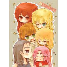 Doujinshi - Saint Seiya / Gold Saints & Aries Mu & Deathmask & Shaka & Syura