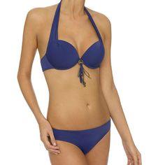 LingaDore Beach Boho Bikini Purple Blue