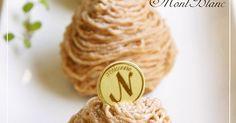 サクサクのメレンゲに美味しいマロンクリームを絞って♬簡単で最高に美味しいモンブランが出来ました。