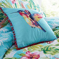 Tropical Filled Cushion #kaleidoscope #homewear