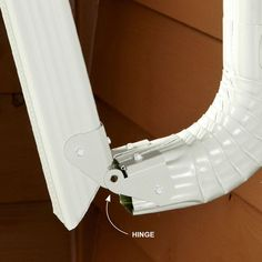 Downspout in the Way - Easy Gutter Fixes: http://www.familyhandyman.com/roof/gutter-repair/easy-gutter-fixes#6