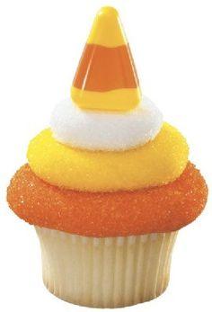 24 Candy Corn Cupcake Topper Picks - Catalu