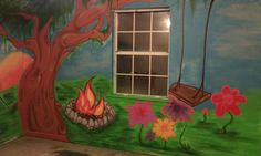 My kids mural by Styles for Smiles