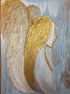 my angels Angel's Christmas Paintings, Christmas Art, Diy Painting, Painting & Drawing, Angel Wings Wall Decor, Angel Artwork, Angel Crafts, Angel Pictures, Art Plastique