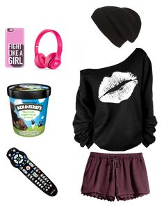 """Who Needs a Boyfriend?"" by raspberrypie ❤ liked on Polyvore featuring H&M, Phase 3 and Casetify"