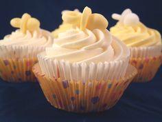 Lemon Baby Shower Cupcakes