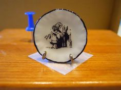 Alice in Wonderland Dollhouse Miniature by TheQuirkyCurioShoppe, $4.00
