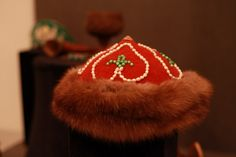 8cf622e0577 The Kalpak  The traditional hat worn by men in both Kazakhstan and  neighboring Kyrgyzstan