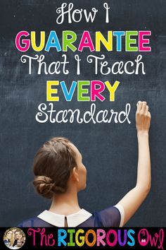 Find out how we teache every standard every year!!!!