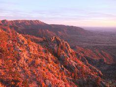Sunset over Sandia, Albuquerque, NM   www.10mainstreet.fr