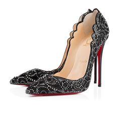 Women Shoes - Top Vague Kid/suede - Christian Louboutin