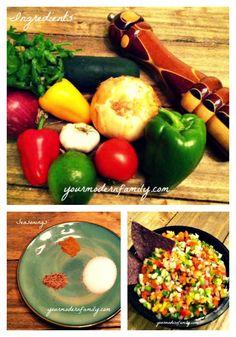 This is a GREAT football recipe!!   salsa pico de gallo recipe - Your Modern Family