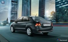 Look at the sophisticated exteriors and exquisite interiors of the Volkswagen #Vento HIghline Plus.