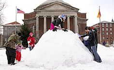 The 10 Snowiest Colleges in the US