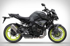 Powered by the same crossplane, 999cc inline-four engine as the race-ready YZF-R1, the Yamaha MT-10 Motorcycle merges track-worthy performance with street-friendly conveniences. Its traction control system, three riding modes, and slipper clutch also come from its high-performance cousin, while its...