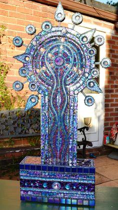 31x16, Mosaic & Neon lights sculptures