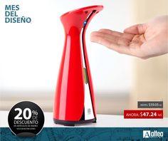 Dale ese toque de lujo y modernismo a tu baño con este dispensador electrónico e jabón.