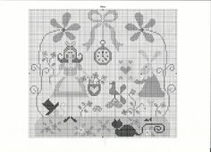 ****** TRalala Alice******* Cross Stitch Samplers, Counted Cross Stitch Patterns, Cross Stitch Charts, Cross Stitching, Cross Stitch Embroidery, Embroidery Patterns, Alice In Wonderland Cross Stitch, Cross Love, Stitch Character