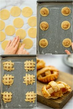 These caramel apple pie cookies are a delicious, easy to make twist on a classic apple pie - perfect for a fall time treat or a holiday dessert! Biscuits Au Caramel, Caramel Apple Pie Cookies, Caramel Apple Dump Cake, Apple Dump Cakes, Apple Cookies, Soft Sugar Cookies, Yummy Cookies, Caramel Apples, Caramel Pie