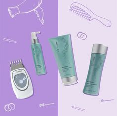 ageLOC® Galvanic Spa with Nutriol® Pack Kit Discount Price Nu Skin, Ageloc Galvanic Spa, Scalp Conditions, Hair System, Healthy Scalp, Hair Spa, Fuller Hair, Beauty Kit, Hair Care Routine