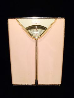 Retro Borg Pink Bathroom Scale c1950s by JaybirdFinds on Etsy