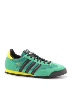 adidas Originals Dragon: Green/Black/Yellow
