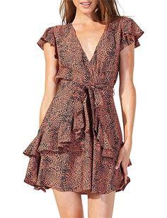 Move Like Jagger Sleeveless Mini Dress Moves Like Jagger, Printed Dresses, Wrap Dress, Mini, Long Sleeve, Casual, Sleeves, Fashion, Moda