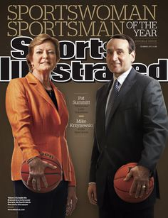 On the Cover: Pat Summitt, Basketball, Tennessee Vols  Photographed by: Simon Bruty / SI